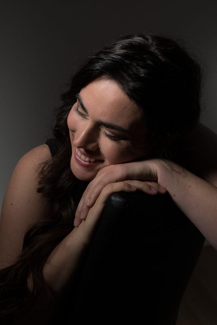 Casting : Myrabel Mathieu -Wearing her marvellous smile, KW: Acteur, Artiste, Modèles, Studio