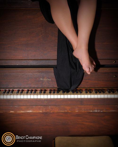 Projet Spécial : Elle danse avec le piano