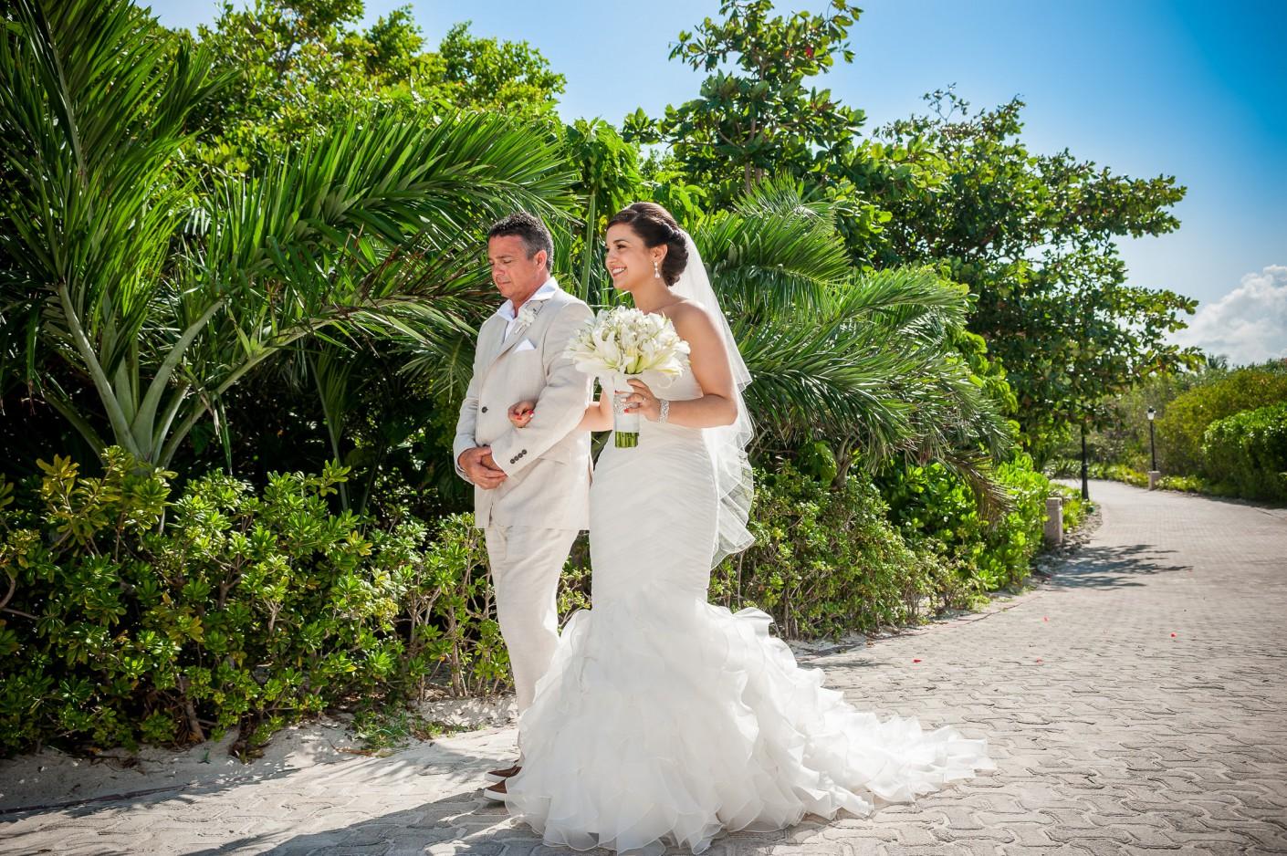 Mariage Destination : L'Approche de la mariée -, KW: 3-Cérémonie, Mexique