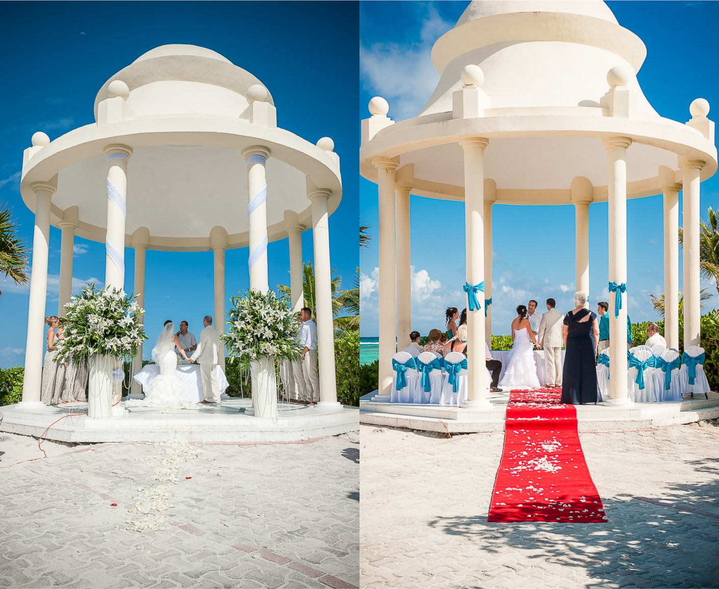 Mariage Destination : Coupoles sur la plage -, KW: Mexique