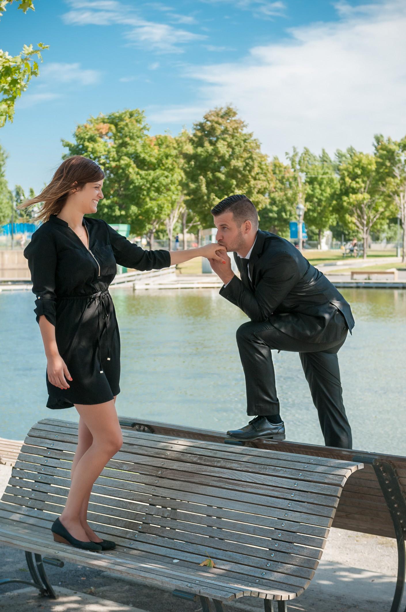 Fiancailles : Galanterie -, KW: Engagement, Mariage