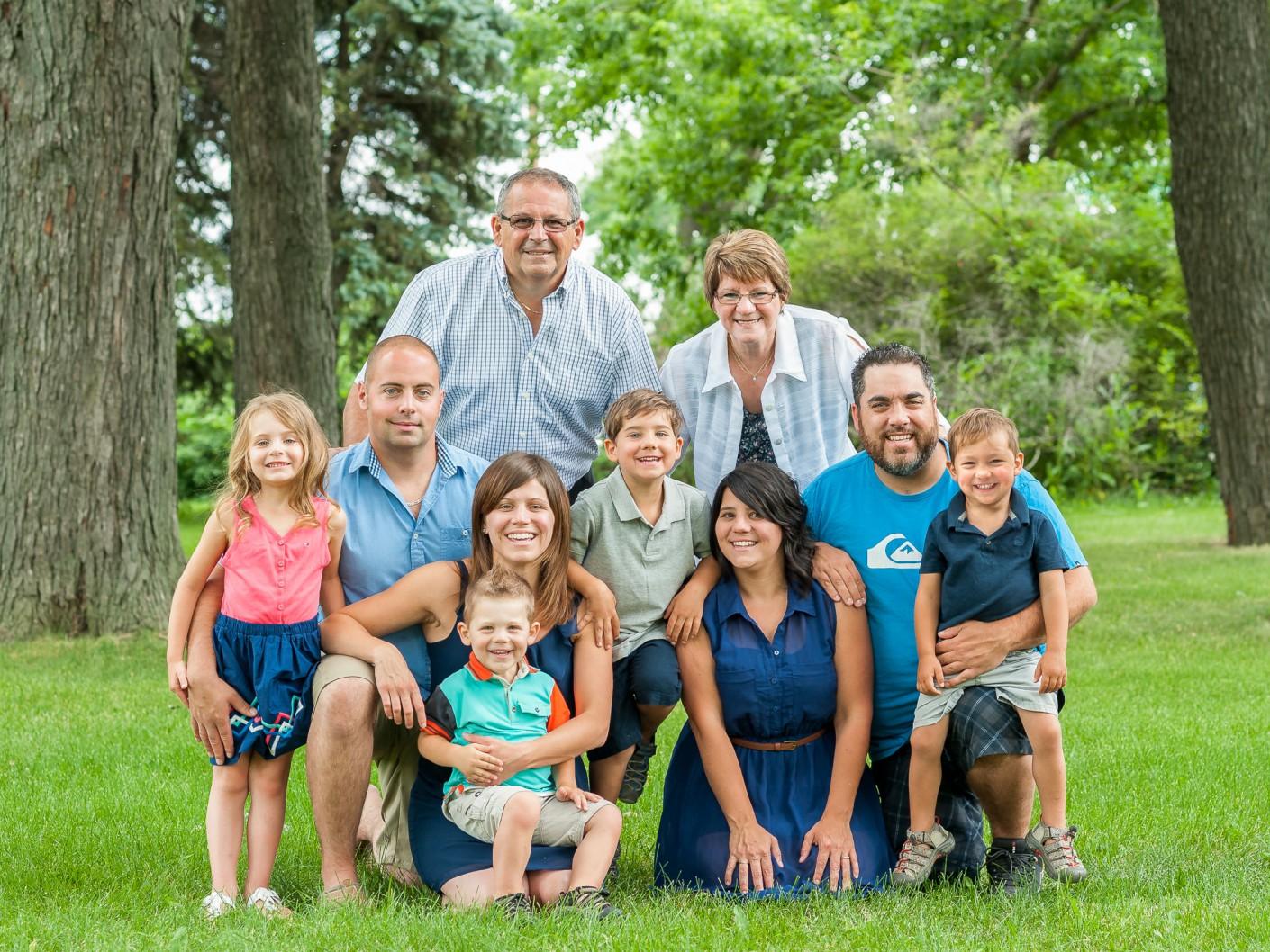 Famille : La grande famille Béland -, KW: Parc