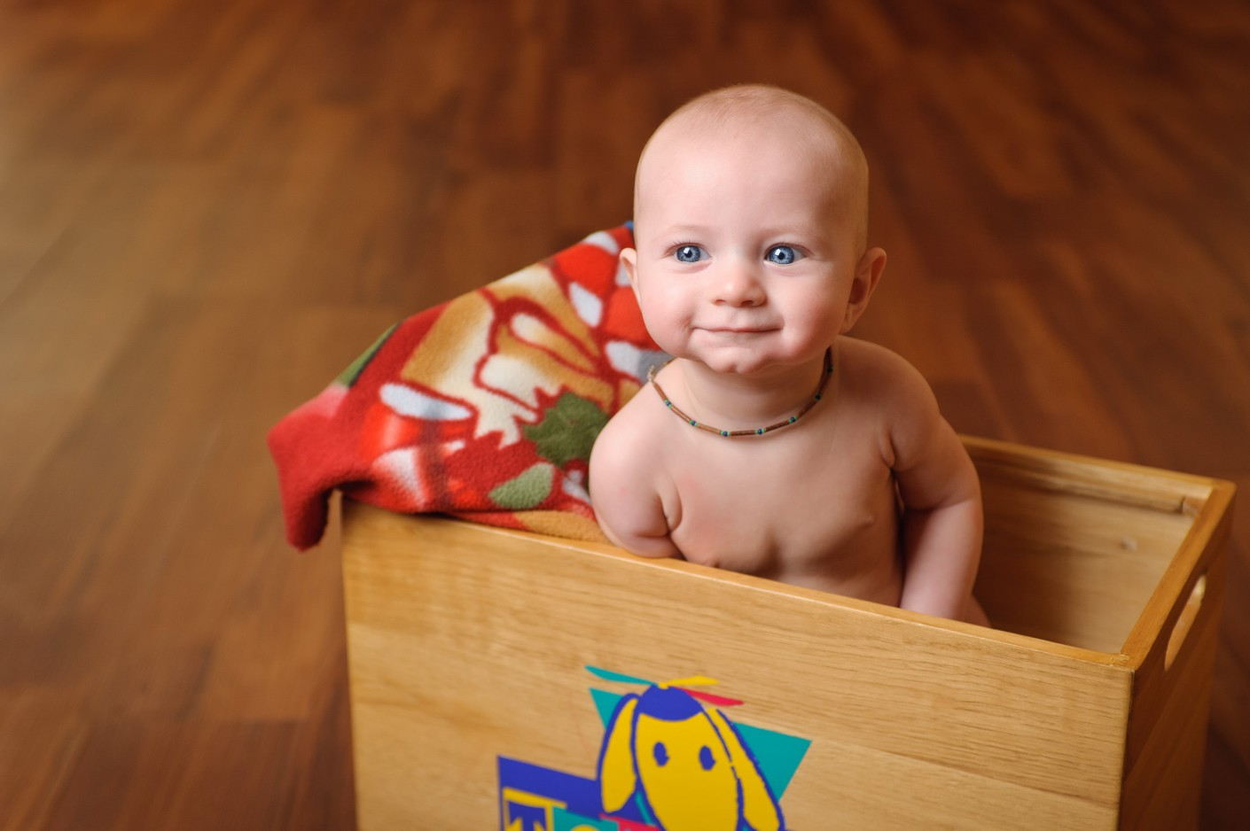 Bébé : Le regard d'azur de Tom