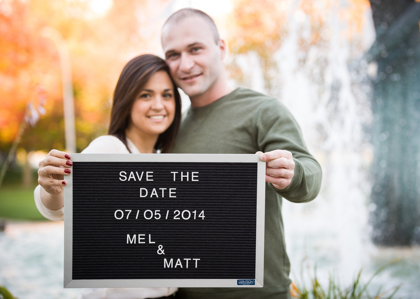 Fiancailles : Save the date -, KW:  Couple, Engagement, Mariage