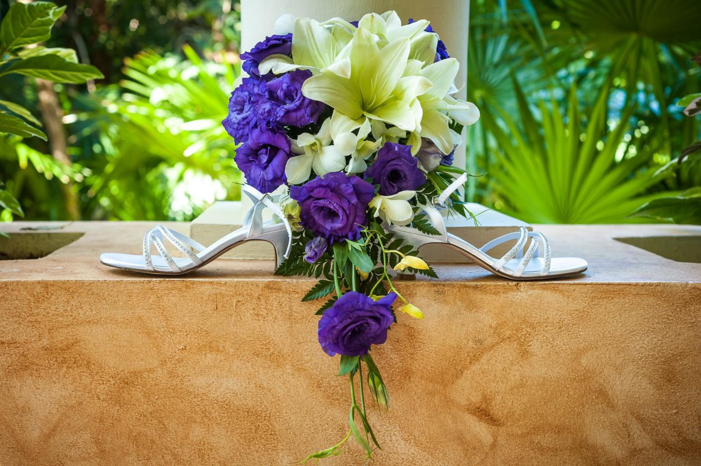 Mariage Destination : Souliers fleuris, KW: Mexique