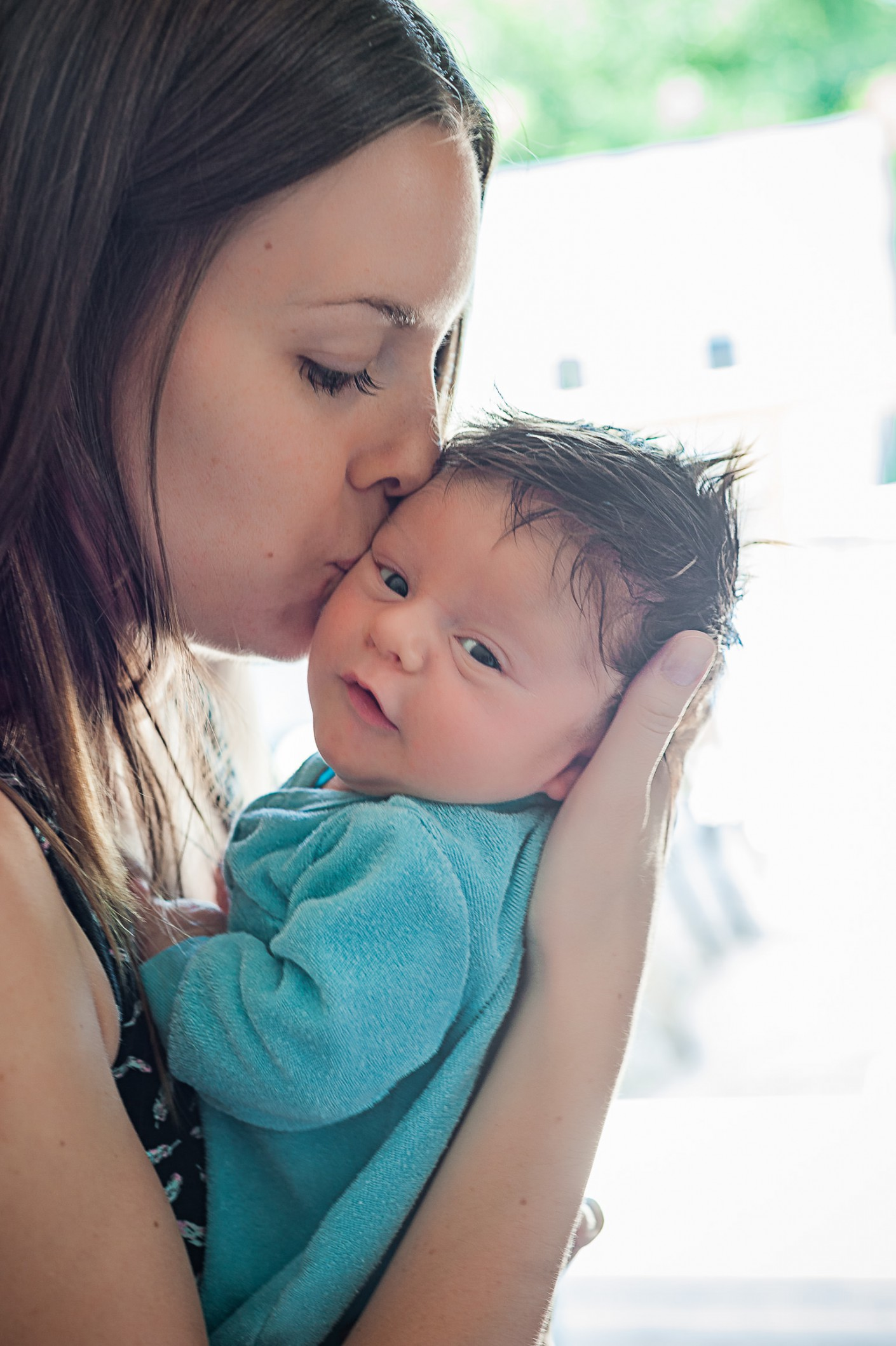 Bébé : Sourire heureux