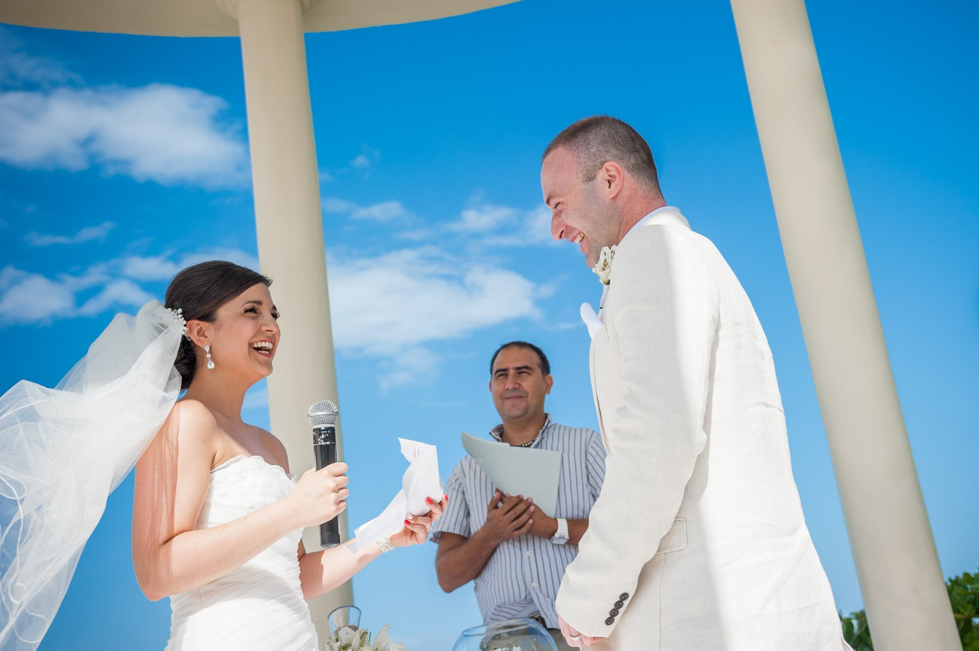 Mariage Destination : Sourires: gage de bonheur -, KW: Mexique