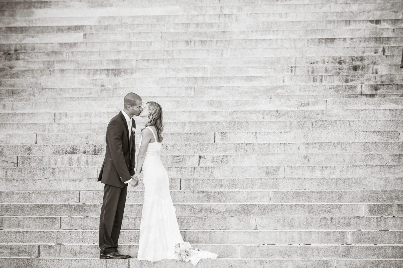 Mariage : Sur la marche de notre montée -, KW: 6-PhotosCouple