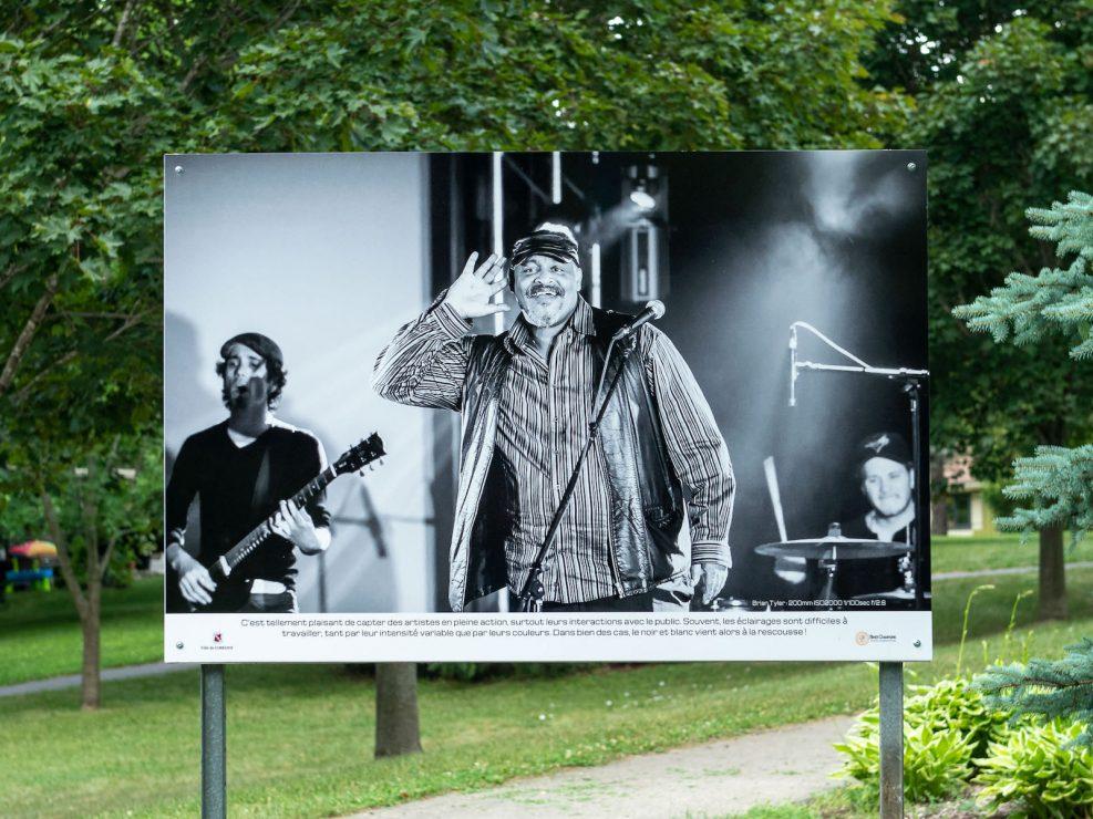 exposition ville Lorraine spectacle Brian Tyler Blues noir et blanc