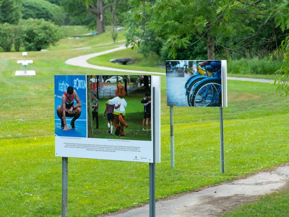 exposition ville Lorraine sportif emotions coureur runner